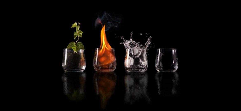 Terra, aria, acqua, fuoco e...Amalgamate ecco la ceramica