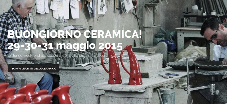 Buongiorno Ceramica: scopri il mondo della ceramica!