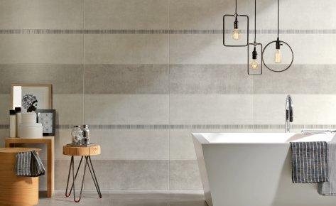 Serie new concrete pavimento e rivestimento armonie for Armonie d arredo