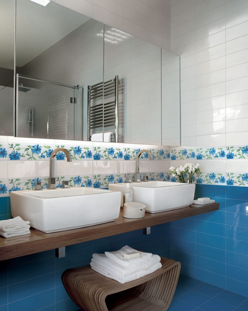Colors collection floor and wall tiles armonie - Listelli decorativi per bagno ...
