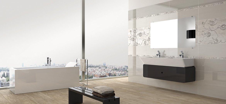 Diva collection floor and wall tiles armonie - Rivestimento bagno grigio ...