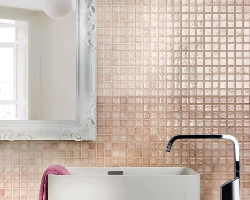 Bagno Con Mosaico Rosa : Serie loto pavimenti e rivestimenti armonie ceramiche