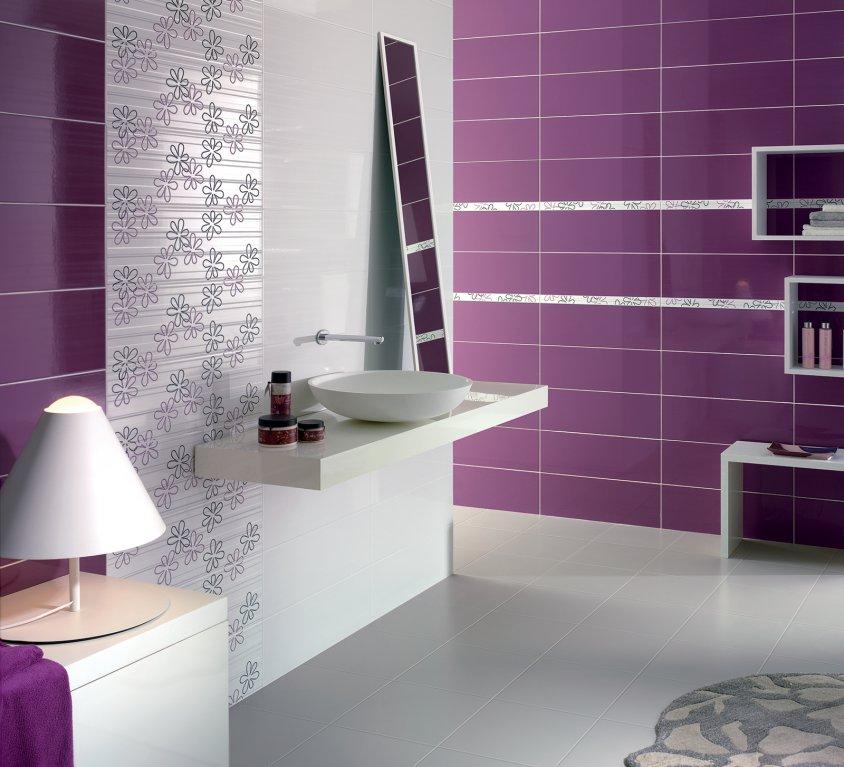 Armonie ceramica piastrelle gres porcellanato e non solo - Piastrelle viola bagno ...