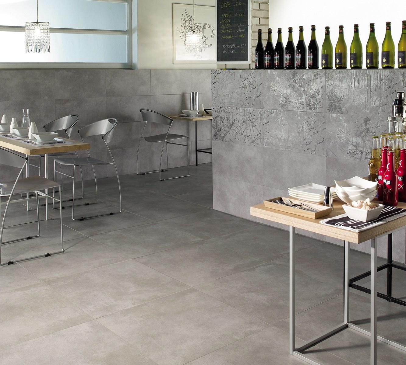 Rivestimento Bagno Beige E Marrone : Serie new concrete pavimento e rivestimento armonie